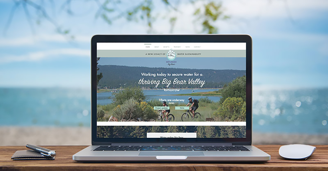 Replenish Big Bear launches educational project website